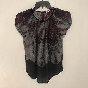 L'agence 100% silk blouse